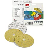 3M Hookit 255P LD861A P150 - Discos abrasivos (10 unidades, 150 mm)