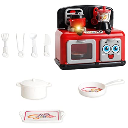 Amazon.com: Homyl Pretend Children\'s Kitchen Playset ...