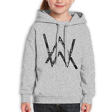71130b86 Amazon.com: Alan Walker Kids Classic Hoodie Ash: Clothing