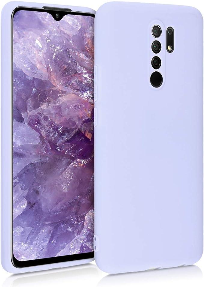 Rouge,Noir Leathlux 6 /× Coque Xiaomi Redmi 9 Housse Silicone Souple TPU /Étui Protection Bumper Case Cover Coque pour Xiaomi Redmi 9 6.6 Transparente Bleu Fonc/é Rose Menthe Verte
