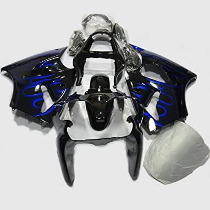 Amazon.com: Blue Flame Painted Fairings Kit Fits Motorcycle ...