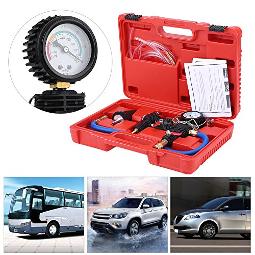 Cooling System Kit,Cooling System Vacuum Purge & Coolant Refill Kit with Carrying Case for Radiator Kit Car SUV Van Cooler Air Cooler Tester