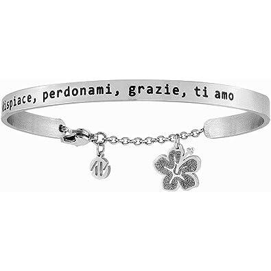 più recente 3a3b8 608a5 Nomination bracelet 027404/020 Steel Collection messaggiamo ...