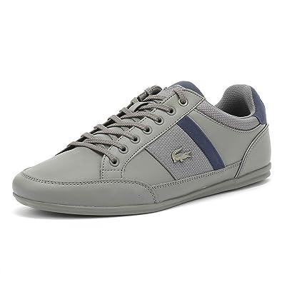 7be4274ed Lacoste Chaymon 318 1 Mens Dark Grey Navy Sneakers-UK 6