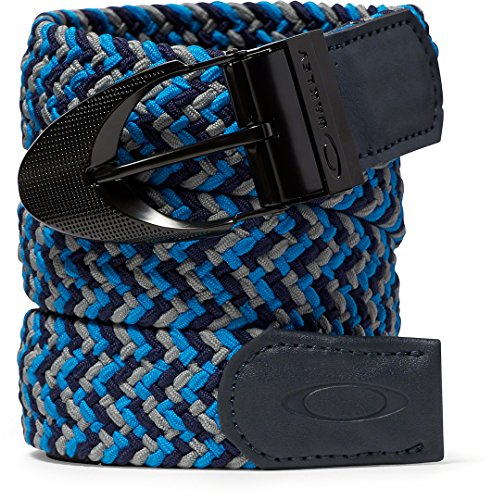 Oakley Men's Stretch Braided Belt - Pacific Blue (L/XL) for sale  Delivered anywhere in USA