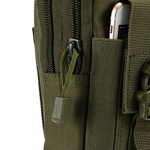 Multi EDC Tool Tactical Waist 90 Bag Pouch Outdoor Green Belt Purpose Gadget MOLLE Compact Utility Military Points Pack pUqg0xn