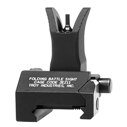 Troy Industries Front Folding Style Battle Sight (Black)
