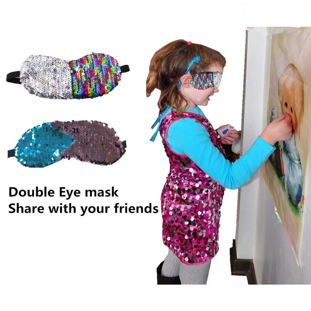 Amazon.com: Magia brillante Reversible máscara de ojo de ...