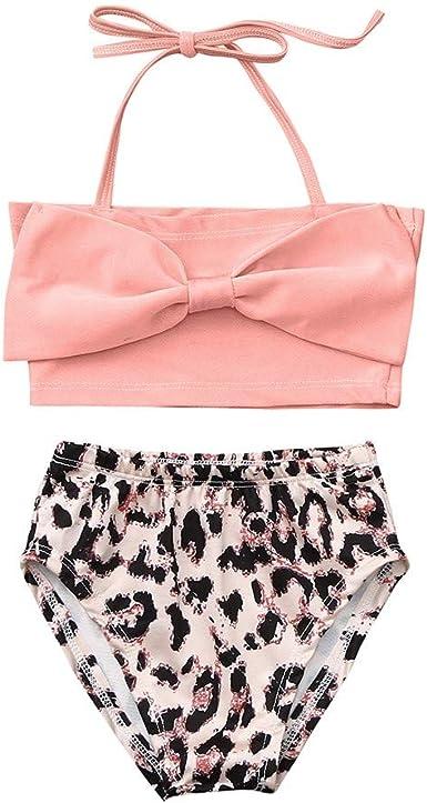 2019 Hot Sale!Cuekondy Baby Girl Kids Children Fashion Dot Bowknot Beach Bathing Suit Swimsuit Swimwear One Piece
