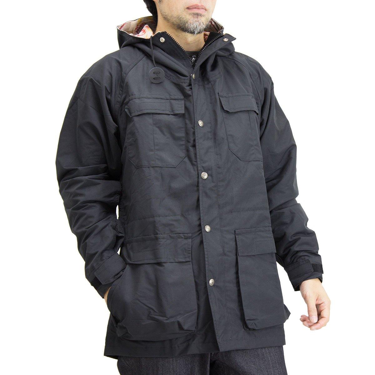 (シェラ デザインズ) SIERRA DESIGNS ペンドルトン T&E マウンテン パーカー 7924L B076BK3N8G S(日本サイズ)|ブラック ブラック S(日本サイズ)