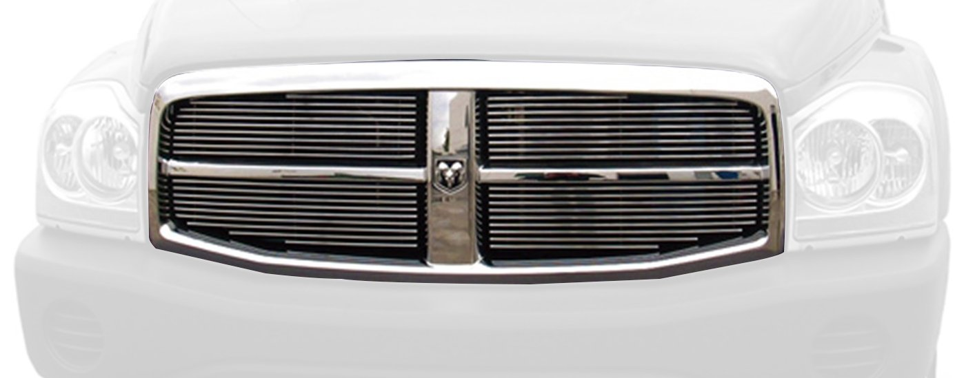 TRex Grilles 20425 Horizontal Aluminum Polished Finish Billet Grille Insert for Dodge Durango T REX