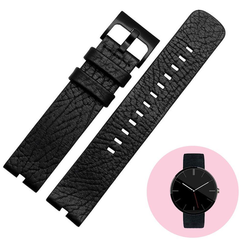 WayIn® De cuero correa de reloj de la venda para Motorola ...