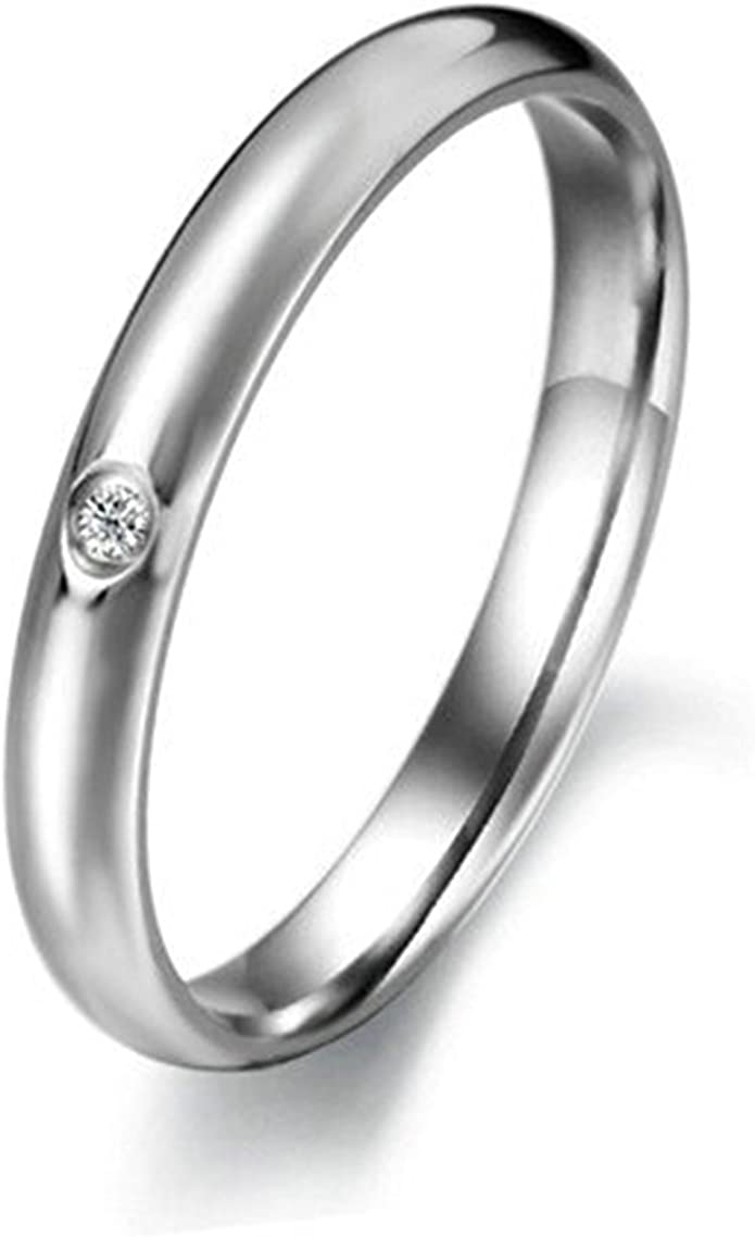 Bishilin Mens Rings Silver Plated Rose Flower with Cubic Zirconia Friendship Rings Silver Size 7