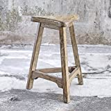 Luther Oak Counter Stool