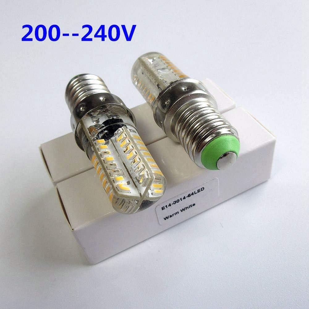 Bombillas LED tipo rosca E14 64 para máquina de coser o ...