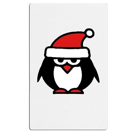 Adulte De Noël Pingouin Dessin Animé Père Noël Polyester