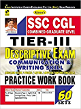 Kiran's SSC CGL Practice Work Book Tier III English Medium - 1821