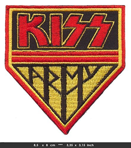 KISS ARMY Iron Sew On Cotton Patches Monster Space Rock Kult 80s USA by - Cyclops 80s