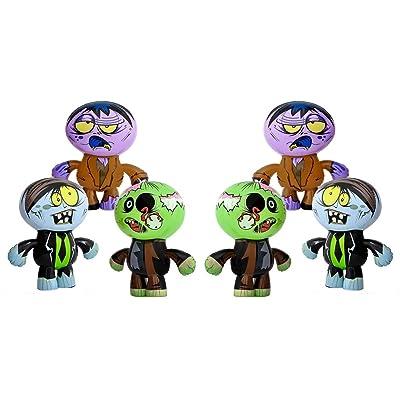 "1 Dozen(12) Crazy Inflatable Zombies (24"") Party Decor/Favor Toy: Toys & Games"