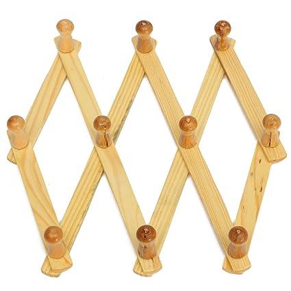 KINGSO - Soporte de pared extensible armario de madera ...