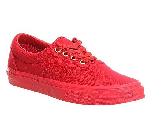 zapatillas vans era rojas mujer