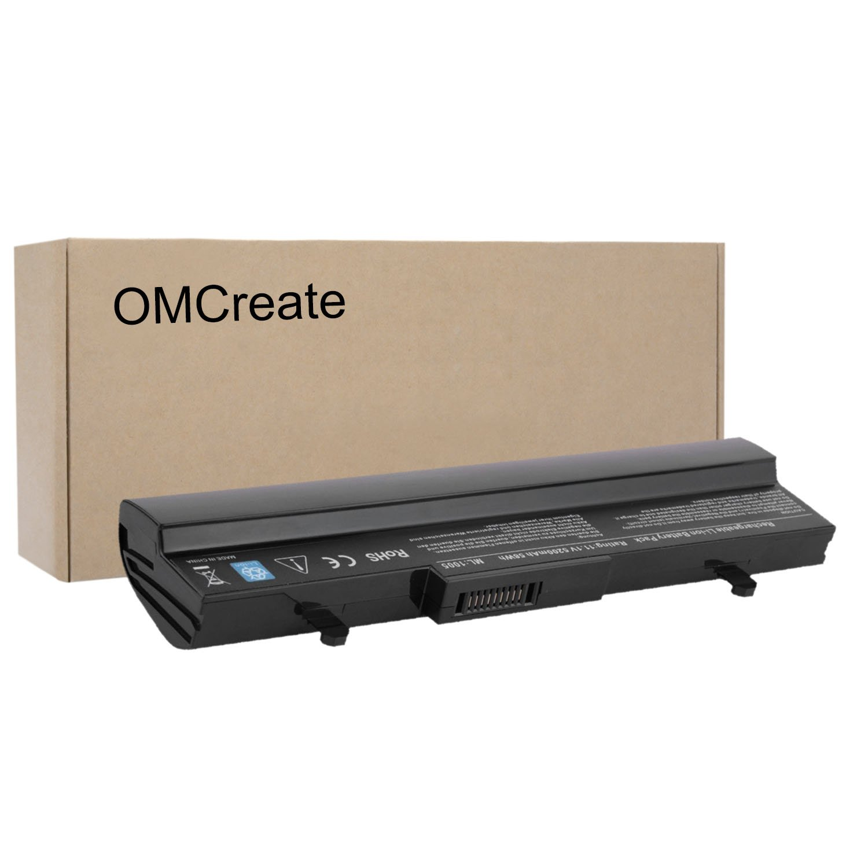 OMCreate New Laptop Battery for Asus Eee PC AL32-1005 1005HAB 1005HA 1005 1005PE 1005H 1005HAGB 1005HA-A 1101HA 1101HAB 1101HGO 1104HA 1106HA Series, Also fits P/N AL31-1005 PL32-1005