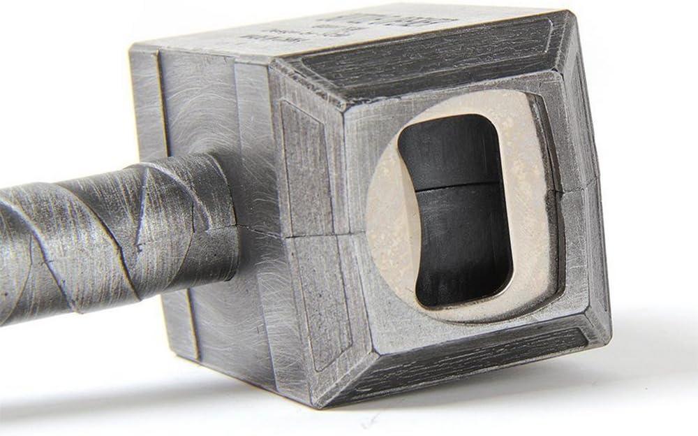 DLMKPQ Ouvreur De Bouteille De Bi/ère Marteau De Bouteille En Forme De Thor Ouvreur De Bouteille Tire-bouchon De Boisson 16.5x7cm//6.5x2.8inch