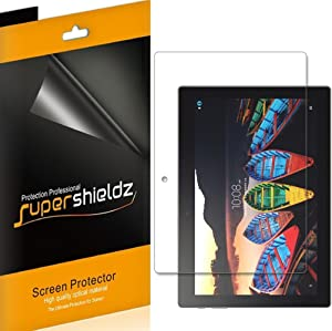 (3 Pack) Supershieldz for Lenovo Tab 10 (TB-X103F) 10.1 inch Tablet Screen Protector, Anti Glare and Anti Fingerprint (Matte) Shield
