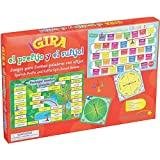 Really Good Stuff Spanish Prefix And Suffix Spin Board Games (Gira el prefijo y el sufijo)