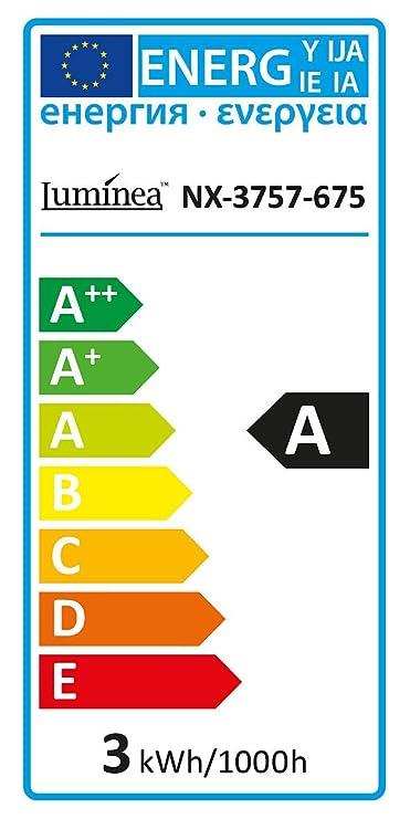 Luminea LED Farbwechsel E14: COB-LED-Kerze mit RGB-Farben und ...