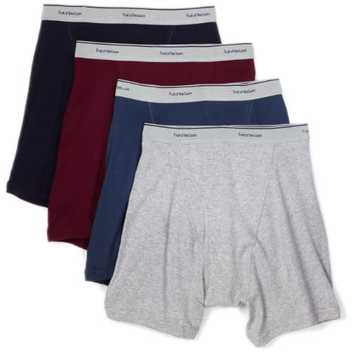 Cheap Fruit of the Loom Men's Extended Leg Boxer Brief (Pack of 4)