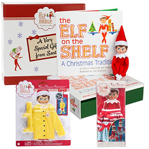 Elf on the Shelf Blue Eyed Girl Dress Up Set - Two Twirling Skirts
