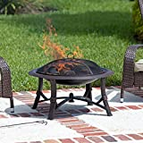 Fire Sense Augusta 30 in. Wood Burning Fire Pit Review