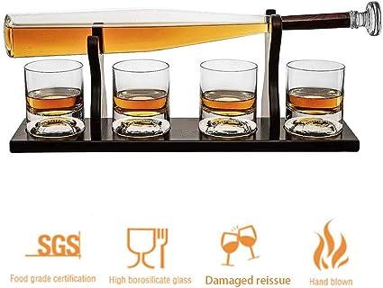 Béisbol Whisky Conjunto, soplado a Mano del Estilo del ...