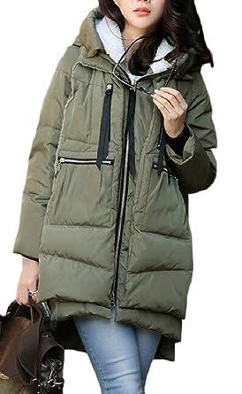 ZXFHZS Mens Winter Coat Warm Down Jacket Winter Hooded Coat Outwear