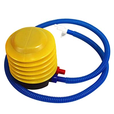 Lumumi Air Pump Pump for Inflatables/Balloon/Balls, Two-Way Foot Pump for Easy Pump-4 inches: Toys & Games