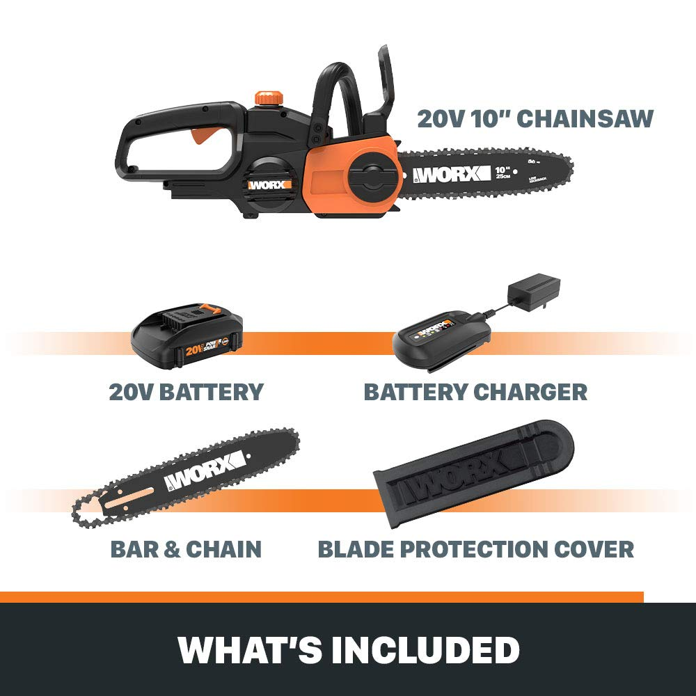 WORX WG322 Chainsaws product image 6