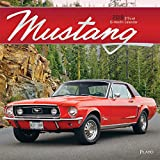 Mustang 2019 12 x 12 Inch Monthly Square Wall Calendar with Foil Stamped Cover by Plato, Ford Motor Muscle Car (English, French and Spanish Edition)
