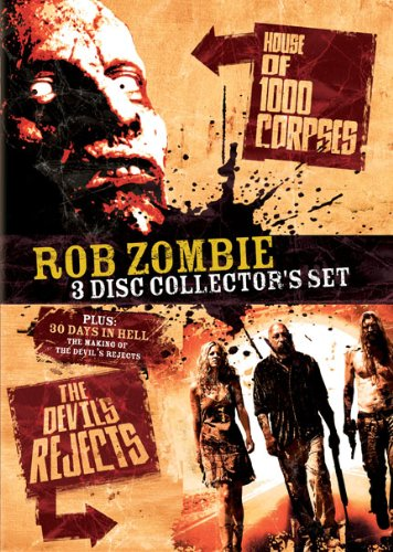 Rob Zombie 3-Disc Collector's Set: House of 1000 Corpses / The Devil's Rejects / 30 Days in Hell: The Making of The Devil's Rejects by Lions Gate
