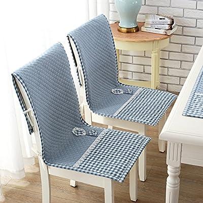 HMWPB Garden Fabric One-Piece Chair Cushion Dining Table Chair Cushion Seat Cushion Four Seasons Thick Non-Slip Cushion Cushions One-c 18x47inch: Kitchen & Dining