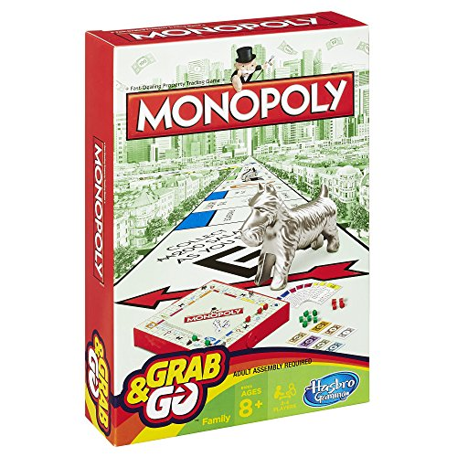 Monopoly Grab and Go Game (Travel Size)