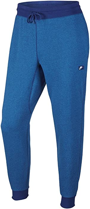 e542d7a25 NIKE Men's AW77 Shoebox Cuffed Sweatpants (727397-455) - DEEP Royal Blue/