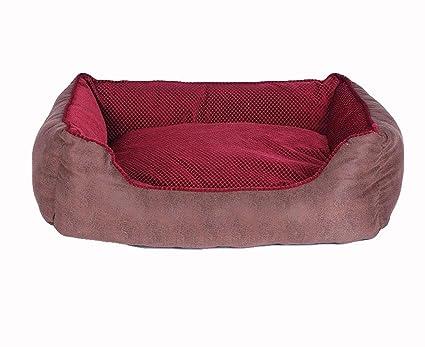 Casa para Mascotas, Cama para Perros Perrera Gato del Perro De Perrito Sofa House Bed