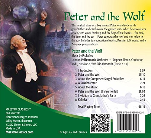 Peter and The Wolf by Maestro Classics (Image #1)