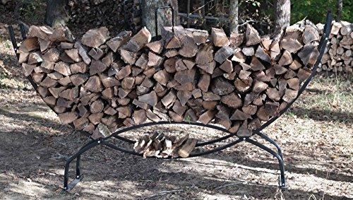 Titan Outdoors Heavy Duty Firewood Log Rack Holder