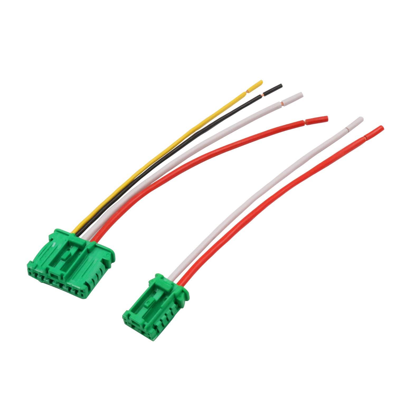 YAOPEI Cablaggio Connettore Loom per Termoventilatore Resistore 6441.L2 HONORY 100013170