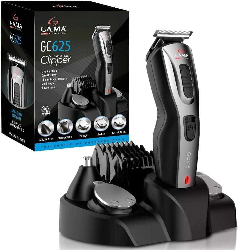 Ga.Ma GA. MA Afeitadora Regolacapelli Recortadora de barba Clipper Gc625 Producto Per rasatura: Amazon.es: Salud y cuidado personal
