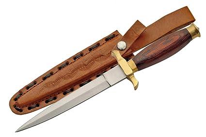Amazon.com: szco Suministros Commando cuchillo Madera ...