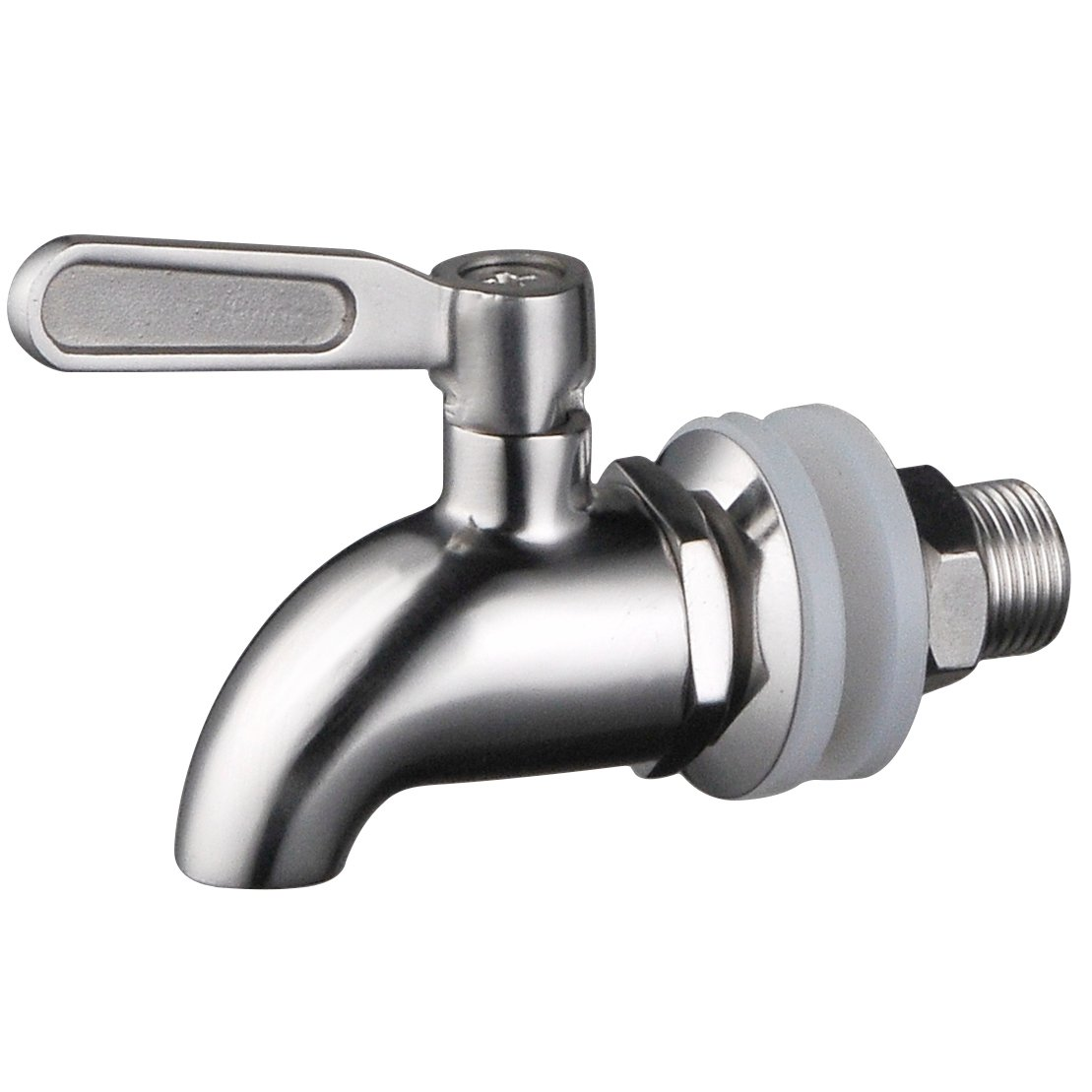 Stainless Works SSS010 Stainless Steel Beverage Dispenser Replacement Spigot (Fits 5/8 inch or 16 mm opening Lifetime Warranty) by Stainless Works