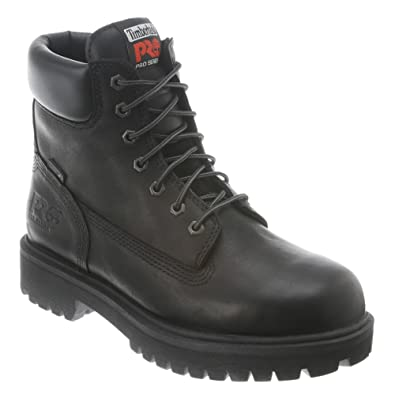 Timberland Pro Direct Attach 6In Steel Toe Waterproof- Black boots